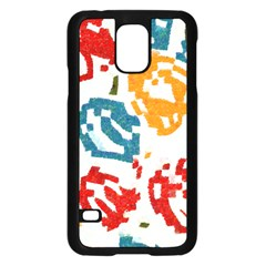 Colorful Paint Stokessamsung Galaxy S5 Case