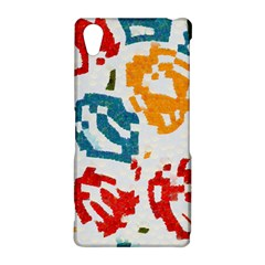 Colorful paint stokes Sony Xperia Z2 Hardshell Case