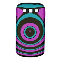 Distorted Concentric Circles Samsung Galaxy S Iii Classic Hardshell Case (pc+silicone)