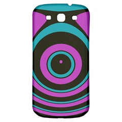 Distorted Concentric Circles Samsung Galaxy S3 S Iii Classic Hardshell Back Case