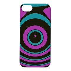 Distorted Concentric Circles Apple Iphone 5s Hardshell Case