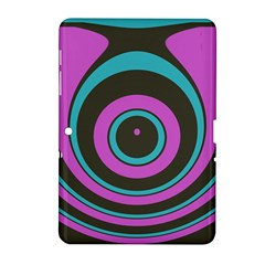 Distorted Concentric Circles Samsung Galaxy Tab 2 (10 1 ) P5100 Hardshell Case