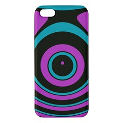 Distorted Concentric Circles Iphone 5s Premium Hardshell Case