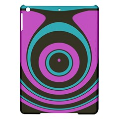 Distorted Concentric Circles Apple Ipad Air Hardshell Case