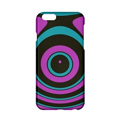 Distorted concentric circles Apple iPhone 6 Hardshell Case