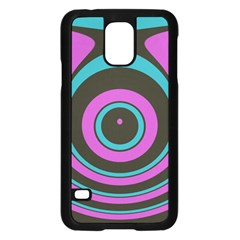 Distorted Concentric Circles	samsung Galaxy S5 Case