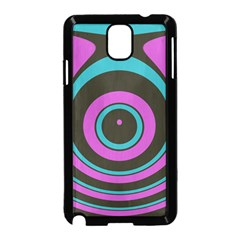 Distorted concentric circles Samsung Galaxy Note 3 Neo Hardshell Case