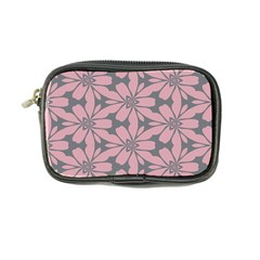 Pink Flowers Pattern Coin Purse