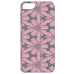 Pink Flowers Pattern Apple Iphone 5 Classic Hardshell Case