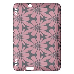 Pink Flowers Pattern Kindle Fire Hdx Hardshell Case