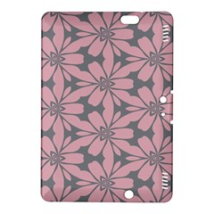 Pink flowers pattern Kindle Fire HDX 8.9  Hardshell Case