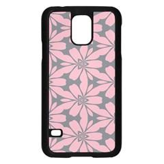 Pink flowers patternSamsung Galaxy S5 Case