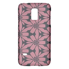 Pink flowers patternSamsung Galaxy S5 Mini Hardshell Case