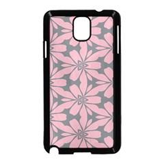 Pink flowers pattern Samsung Galaxy Note 3 Neo Hardshell Case