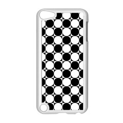 Black And White Polka Dots Apple Ipod Touch 5 Case (white)