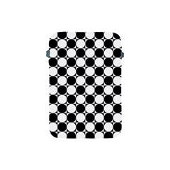 Black And White Polka Dots Apple Ipad Mini Protective Sleeve