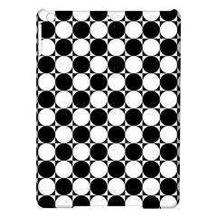 Black And White Polka Dots Apple iPad Air Hardshell Case