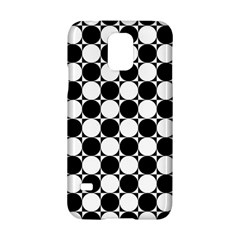 Black And White Polka Dots Samsung Galaxy S5 Hardshell Case