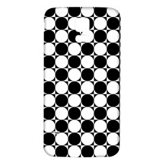 Black And White Polka Dots Samsung Galaxy S5 Back Case (white)