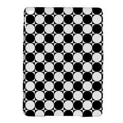 Black And White Polka Dots Apple iPad Air 2 Hardshell Case