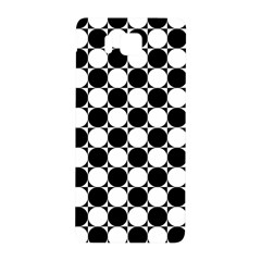 Black And White Polka Dots Samsung Galaxy Alpha Hardshell Back Case