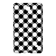 Black And White Polka Dots Samsung Galaxy Tab 4 (7 ) Hardshell Case