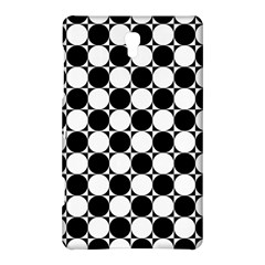 Black And White Polka Dots Samsung Galaxy Tab S (8 4 ) Hardshell Case