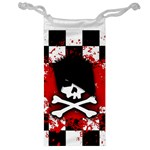 Emo Skull Jewelry Bag Front