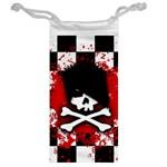 Emo Skull Jewelry Bag Back