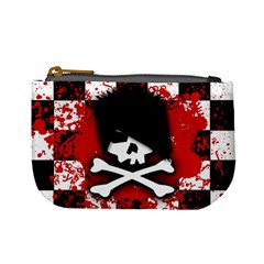 Emo Skull Coin Change Purse