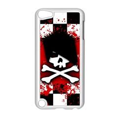Emo Skull Apple Ipod Touch 5 Case (white)