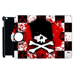 Emo Skull Apple Ipad 2 Flip 360 Case