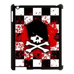 Emo Skull Apple Ipad 3/4 Case (black)