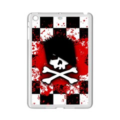 Emo Skull Apple Ipad Mini 2 Case (white)