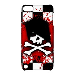 Emo Skull Apple Ipod Touch 5 Hardshell Case With Stand