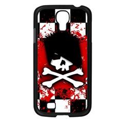 Emo Skull Samsung Galaxy S4 I9500/ I9505 Case (black)
