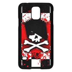 Emo Skull Samsung Galaxy S5 Case (Black)