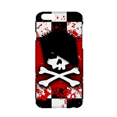 Emo Skull Apple iPhone 6 Hardshell Case
