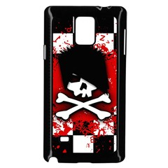 Emo Skull Samsung Galaxy Note 4 Case (black)