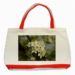 Spring Flowers Classic Tote Bag (red)
