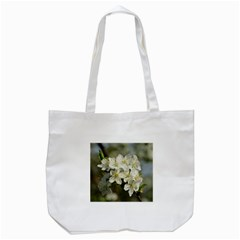 Spring Flowers Tote Bag (White)