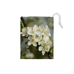 Spring Flowers Drawstring Pouch (Small)