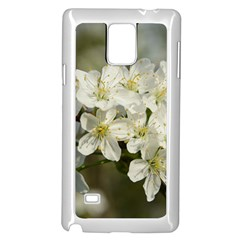 Spring Flowers Samsung Galaxy Note 4 Case (White)