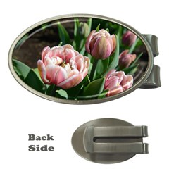 Tulips Money Clip (oval)