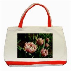 Tulips Classic Tote Bag (red)