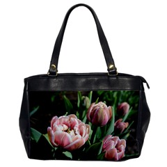 Tulips Oversize Office Handbag (one Side)