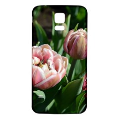 Tulips Samsung Galaxy S5 Back Case (White)