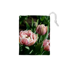 Tulips Drawstring Pouch (small)