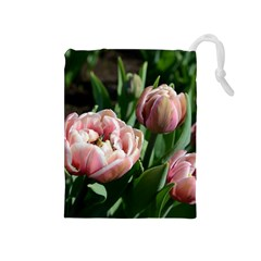 Tulips Drawstring Pouch (Medium)