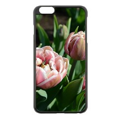 Tulips Apple iPhone 6 Plus Black Enamel Case